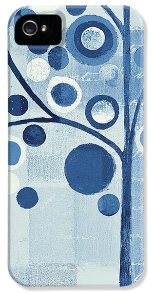 Bubbles iPhone 5 Cases - Bubble Tree - s290-01l - Blue iPhone 5 Case by Variance Collections
