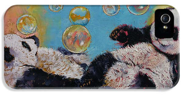 Bubbles IPhone 5 / 5s Case by Michael Creese