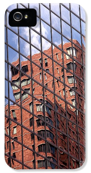Building Reflection IPhone 5 / 5s Case by Tony Cordoza