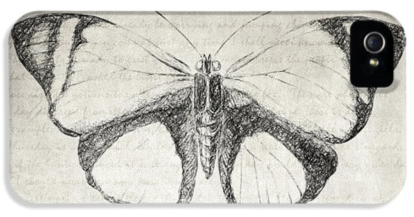 Butterfly Quote - The Little Prince IPhone 5 / 5s Case by Taylan Soyturk