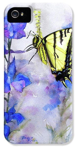 Butteryfly Delight IPhone 5 / 5s Case by Bonnie Rinier