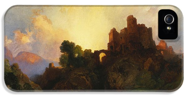 Castle iPhone 5 Cases - Caledonia iPhone 5 Case by Thomas Moran