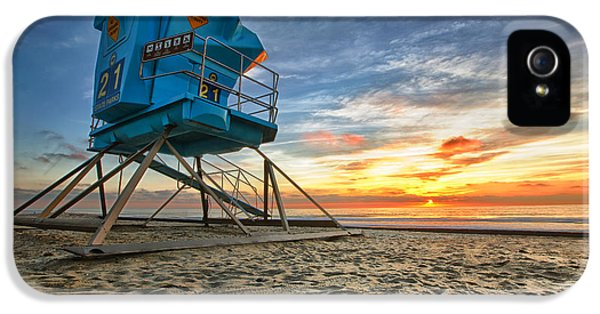 Sea iPhone 5 Cases - California Dreaming iPhone 5 Case by Larry Marshall