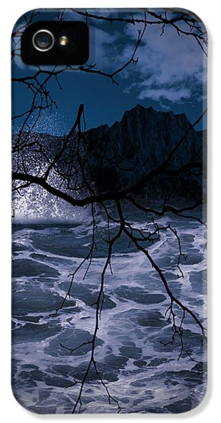 Witch iPhone 5 Cases - Caliginosity iPhone 5 Case by Lourry Legarde