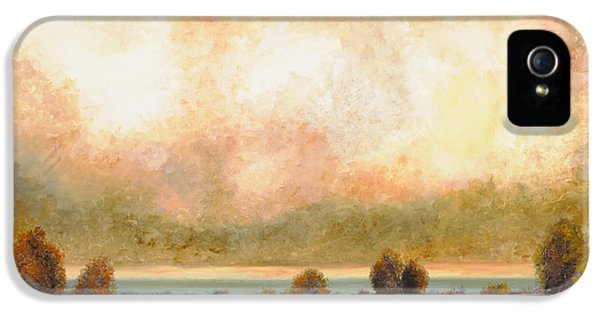River iPhone 5 Cases - Calor Bianco iPhone 5 Case by Guido Borelli