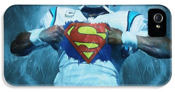 Cam Newton Superman IPhone 5 / 5s Case by Dan Sproul