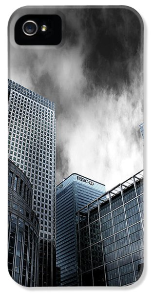 Canary Wharf IPhone 5 / 5s Case by Martin Newman