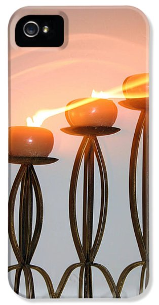 Candles In The Wind IPhone 5 / 5s Case by Kristin Elmquist