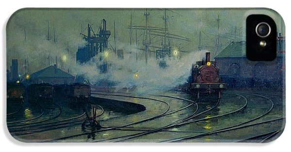 Cardiff Docks IPhone 5 / 5s Case by Lionel Walden