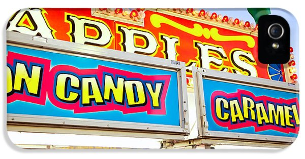 Carnival Concession Stand Signs IPhone 5 / 5s Case by Paul Velgos