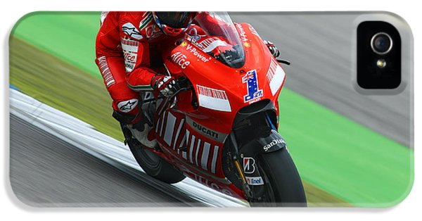 Casey iPhone 5 Cases - Casey Stoner iPhone 5 Case by Henk Meijer Photography