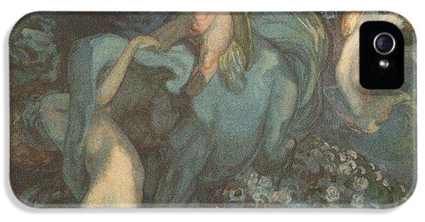 Centaur Nymphs And Cupid IPhone 5 / 5s Case by Franz von Bayros