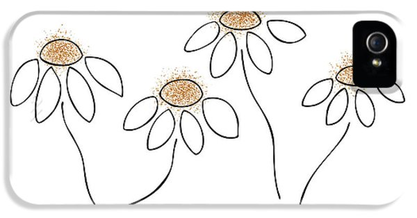 Whimsy iPhone 5 Cases - Chamomile iPhone 5 Case by Frank Tschakert