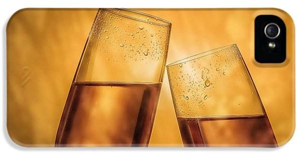 Champagne Toast IPhone 5 / 5s Case by Tom Mc Nemar