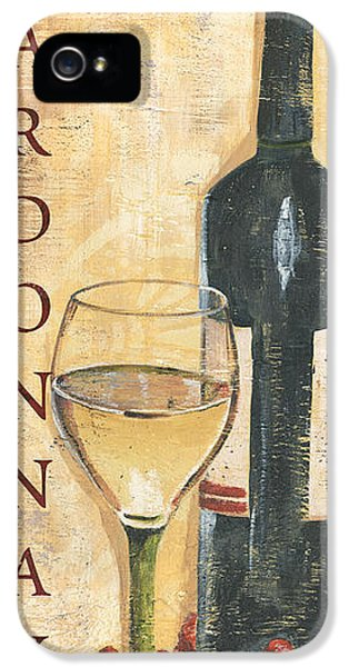 Chardonnay Wine And Grapes IPhone 5 / 5s Case by Debbie DeWitt