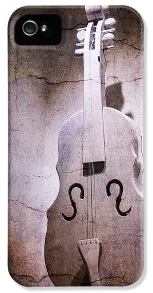 Softly iPhone 5 Cases - Chello Abstract iPhone 5 Case by Garry Gay