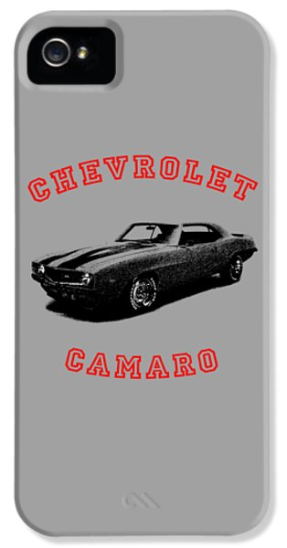 Muscle Car iPhone 5 Cases - Chevrolet Camaro Z 28 iPhone 5 Case by Mark Rogan