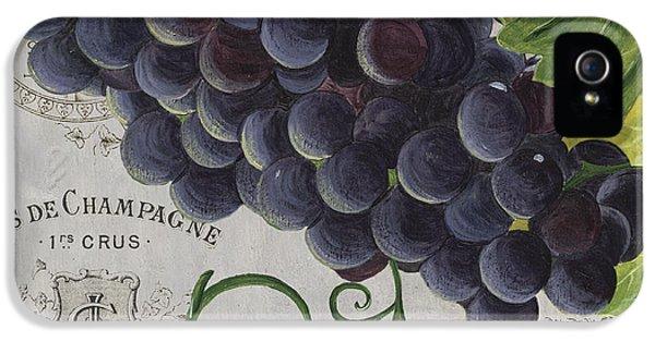 Vins De Champagne 2 IPhone 5 / 5s Case by Debbie DeWitt