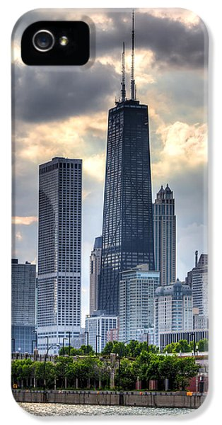 Buildings iPhone 5 Cases - Chicago from the Pier iPhone 5 Case by Joshua Ball