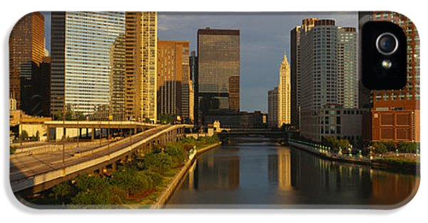 Chicago River From Lake Shore Drive IPhone 5 / 5s Case by Panoramic Images