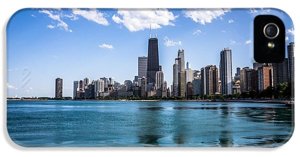 2012 iPhone 5 Cases - Chicago Skyline Photo with Hancock Building iPhone 5 Case by Paul Velgos