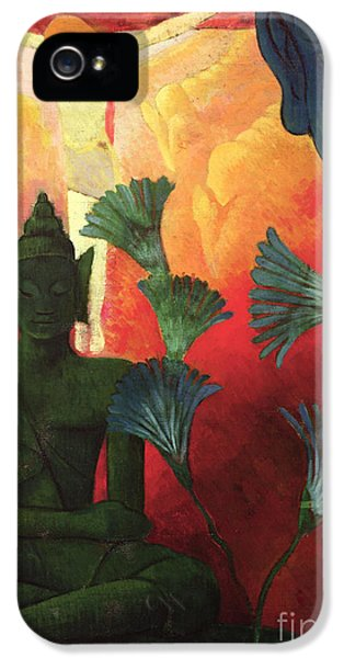 Christ And Buddha IPhone 5 / 5s Case by Paul Ranson