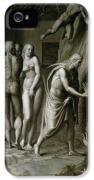 Christ In Limbo IPhone 5 / 5s Case by Italian School