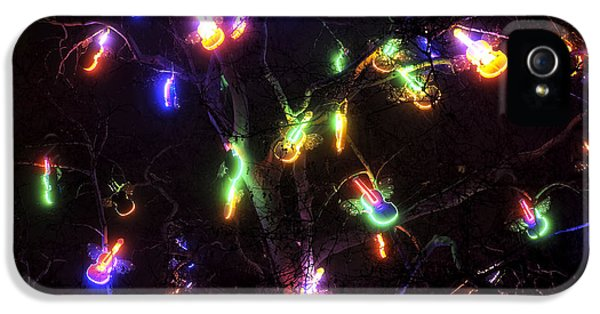 Christmas Violins IPhone 5 / 5s Case by John Rizzuto