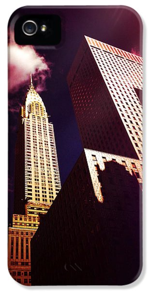Scifi iPhone 5 Cases - Chrysler Building iPhone 5 Case by Vivienne Gucwa