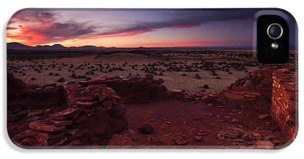 Pueblo iPhone 5 Cases - Citadel Sunset iPhone 5 Case by Mike  Dawson