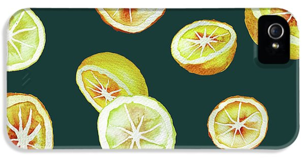 Citrus IPhone 5 / 5s Case by Varpu Kronholm