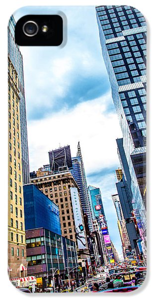 Sight iPhone 5 Cases - City Sights NYC iPhone 5 Case by Az Jackson