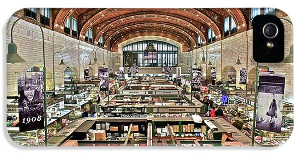 Classic Westside Market IPhone 5 / 5s Case by Frozen in Time Fine Art Photography