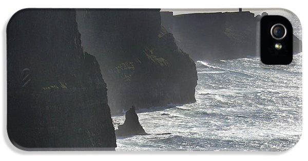 Landscape iPhone 5 Cases - Cliffs of Moher 1 iPhone 5 Case by Mike McGlothlen