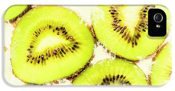 Close Up Of Kiwi Slices IPhone 5 / 5s Case by Jorgo Photography - Wall Art Gallery