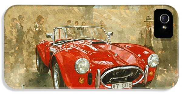 Cobra At Brooklands IPhone 5 / 5s Case by Peter Miller