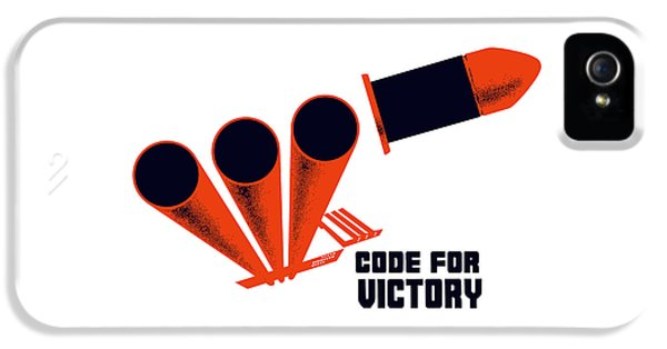 Code For Victory - Ww2 IPhone 5 / 5s Case by War Is Hell Store