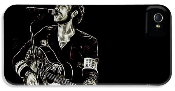 Coldplay Collection Chris Martin IPhone 5 / 5s Case by Marvin Blaine
