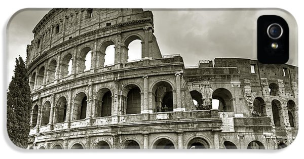 Sight iPhone 5 Cases - Colosseum  Rome iPhone 5 Case by Joana Kruse