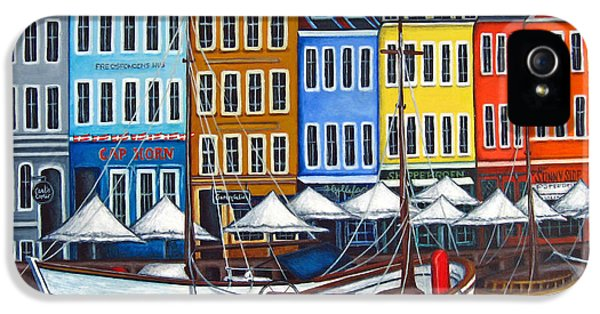Harbor iPhone 5 Cases - Colours of Nyhavn iPhone 5 Case by Lisa  Lorenz