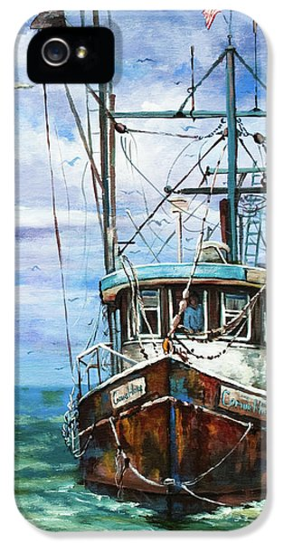 Fishing iPhone 5 Cases - Coming Home iPhone 5 Case by Dianne Parks