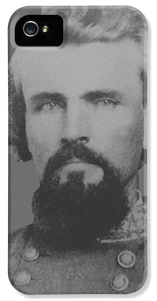 Forrest iPhone 5 Cases - Confederate General Nathan Forrest iPhone 5 Case by War Is Hell Store