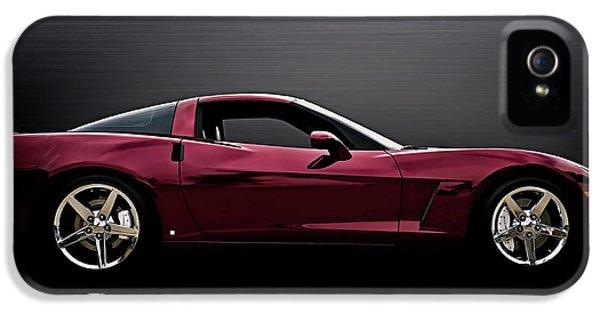 Chrome iPhone 5 Cases - Corvette Reflections iPhone 5 Case by Douglas Pittman