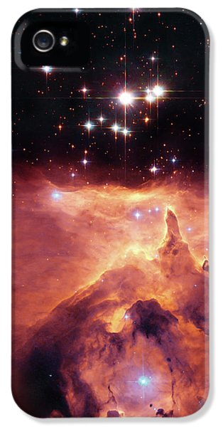 Solar System iPhone 5 Cases - Cosmic Cave iPhone 5 Case by The  Vault - Jennifer Rondinelli Reilly