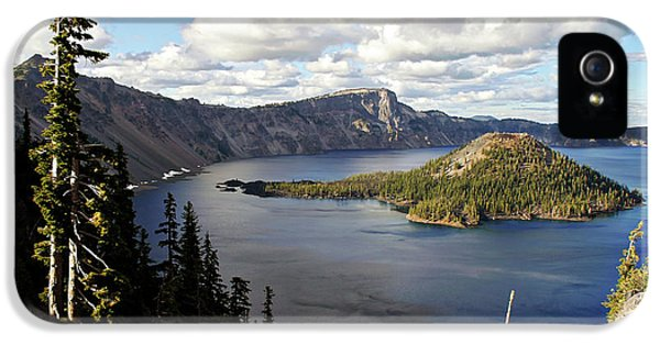 Crater Lake - Intense Blue Waters And Spectacular Views IPhone 5 / 5s Case by Christine Till