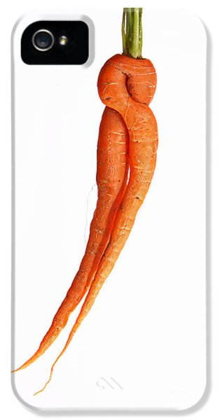 Carrot iPhone 5 Cases - Crazy Carrot Fine Art Food Photography iPhone 5 Case by James BO  Insogna