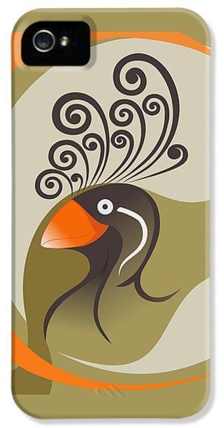 crestedAUKLET IPhone 5 / 5s Case by Mariabelones ART