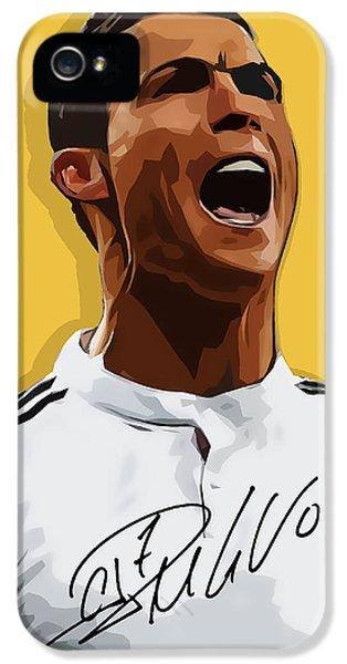 Cristiano Ronaldo Cr7 IPhone 5 / 5s Case by Semih Yurdabak