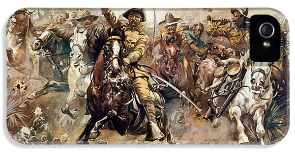 Cuba: Rough Riders, 1898 IPhone 5 / 5s Case by Granger
