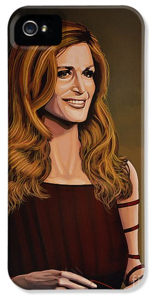 Disc iPhone 5 Cases - Dalida iPhone 5 Case by Paul Meijering